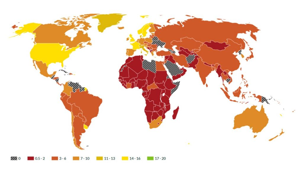 Inequality Transparency Index - World Inequality Lab