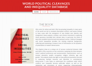 World Political Cleavages and Inequality Database